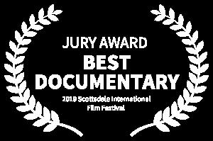 Scottsdale International Film Festival Best Documentary Award laurel